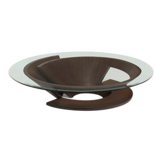 Nautilus Coffee Table, Wenge For Sale