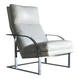 Milo Baughman Lounge Chair For Sale