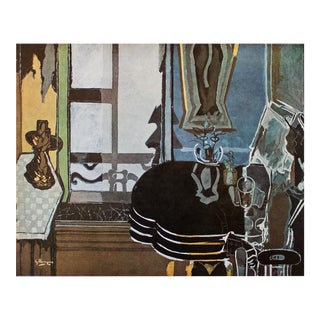 """1940s Georges Braque """"Interior"""", First Edition Period Swiss Lithograph For Sale"""