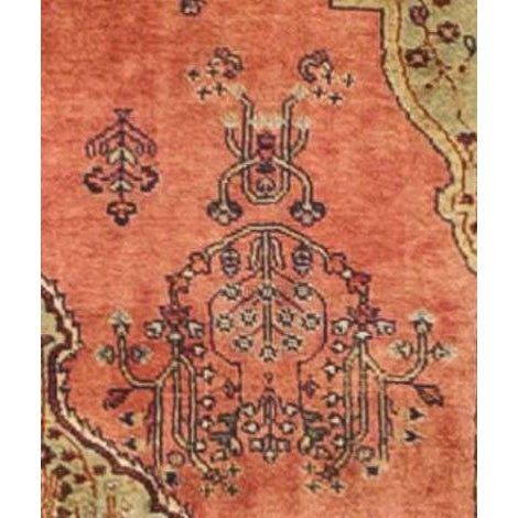 """Traditional Handmade Indian Luxury Runner Rug - 3' x 11'8"""" For Sale - Image 3 of 5"""