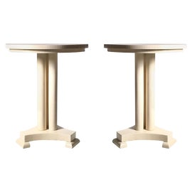 Image of Neoclassical Side Tables