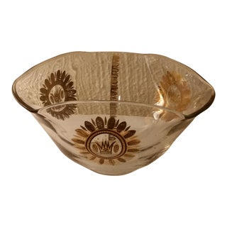 Georges Briard Glass Bowl For Sale
