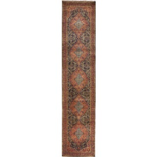 "Hand-Knotted Artisan Indian Runner- 2'10""x 12'2"" For Sale"