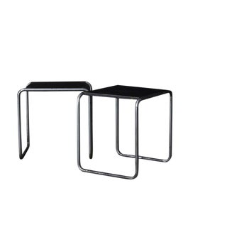 1927 Marcel Breuer Early B-25 Stools - A Pair For Sale