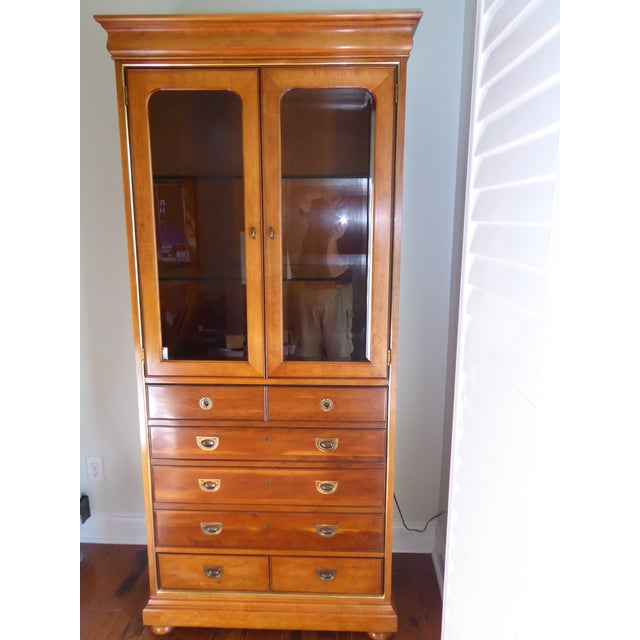 Mt. Airy Display Armoire Cabinet - Image 2 of 11