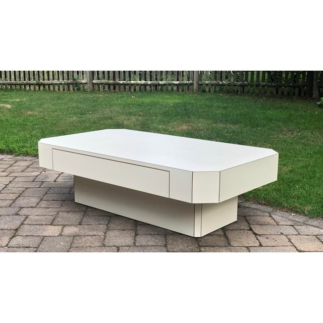 1980s Geometric Laminate Coffee Table For Sale - Image 13 of 13