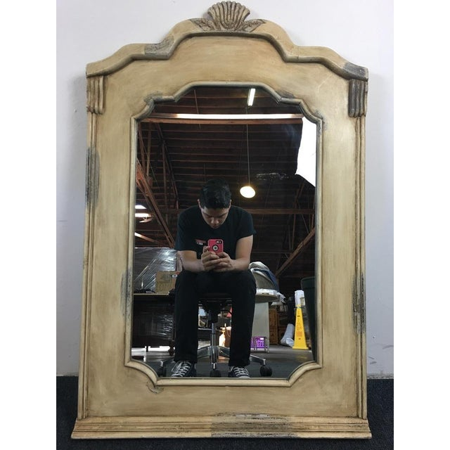 Traditional Beige Wall Mirror - Image 2 of 5