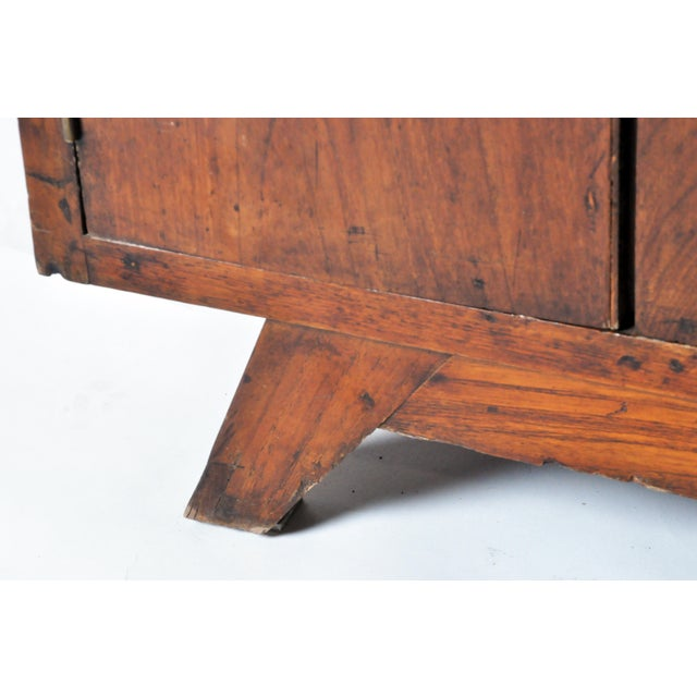 British Colonial Teakwood and Bar Cabinet For Sale - Image 10 of 11