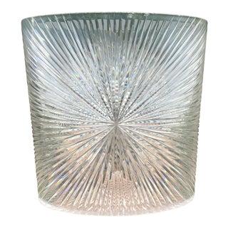 Mid-Century Acrylic Waste Basket