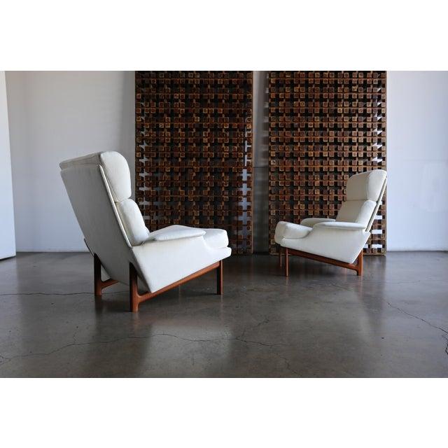 "Ib Kofod-Larsen ""Adam"" Lounge Chairs for Mogens Kold Møbelfabrik Circa 1960 - a Pair For Sale - Image 13 of 13"