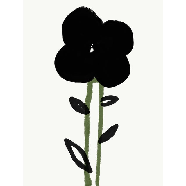 """2020s """"A Single Flower"""" Limited Edition Print by Annie Naranian For Sale - Image 5 of 5"""