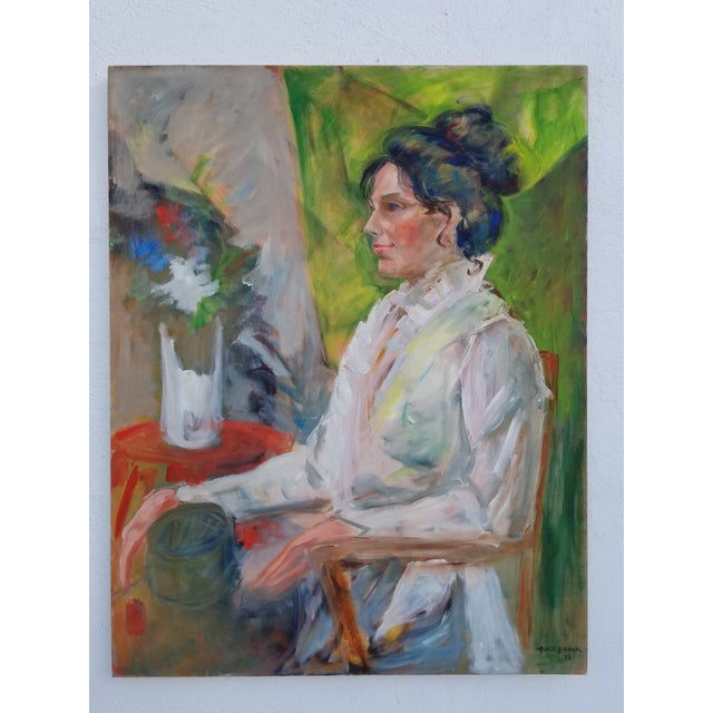 1972 Alice Brock Abstract Still Life Painting For Sale - Image 12 of 12