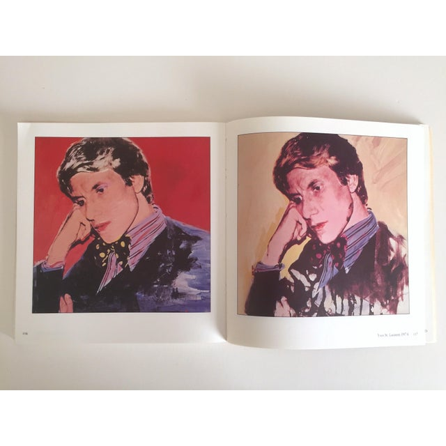 """Red """"Warhol Portraits of the 70's"""" Vintage 1979 Rare 1st Edition Collector's Art Book For Sale - Image 8 of 11"""