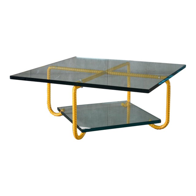 Glass Ra Coffee Table by Artist Troy Smith - Contemporary Design - Artist Proof - Limited Edition For Sale - Image 7 of 7