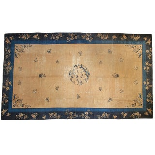 "Vintage Peking Carpet - 9'11"" X 17'4"" For Sale"