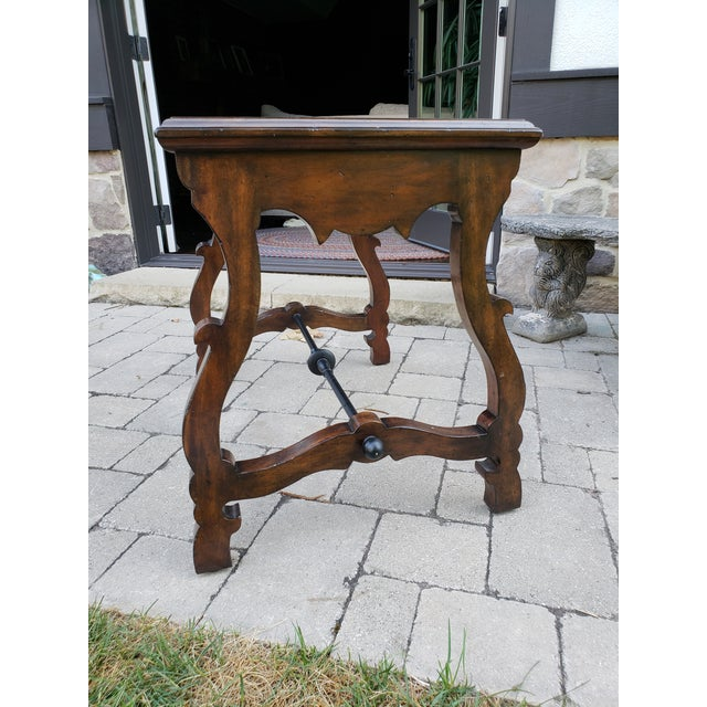 Traditional Port Eliot 2-Drawer Wooden Side Table For Sale In Pittsburgh - Image 6 of 8