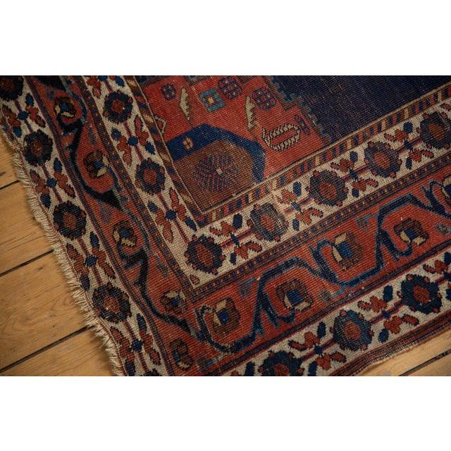"""Antique Fine Afshar Rug - 4'3"""" x 5'2"""" - Image 5 of 13"""
