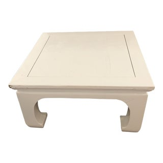 Chinoiserie Lacquered Coffee Table For Sale