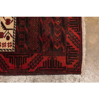 Persian Geometric Baluch Rug - 3′ × 5′6″ Preview