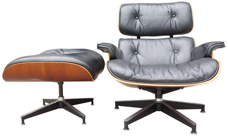 Eames Lounge Chair 670 And Ottoman For Herman Miller   Image 5 Of 5