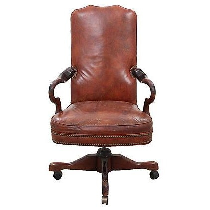 Leather Office Chair - Image 1 of 7