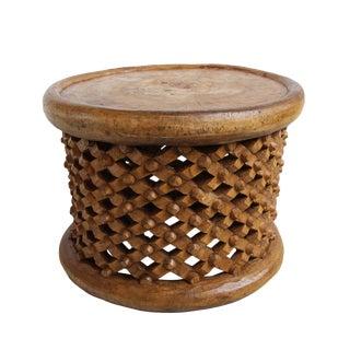 Natural Bamileke Stool For Sale
