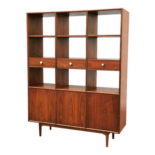 Mid Century Modern Drexel Declaration Wall Unit For Sale