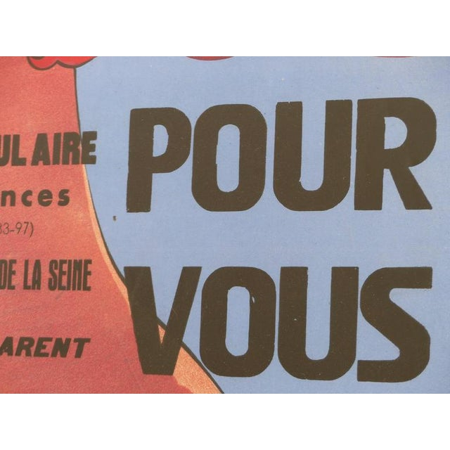 French Art Deco Vacances Poster by Marsas For Sale In Miami - Image 6 of 10