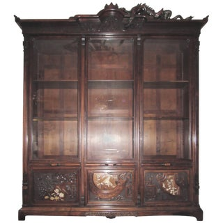 Gabriel Viardot, France, Chinoiserie Collection Cabinet, Circa 1880 For Sale