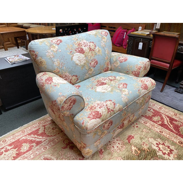 Shabby Chic La-Z Boy Shabby Chic Arm Chair Recliner For Sale - Image 3 of 12