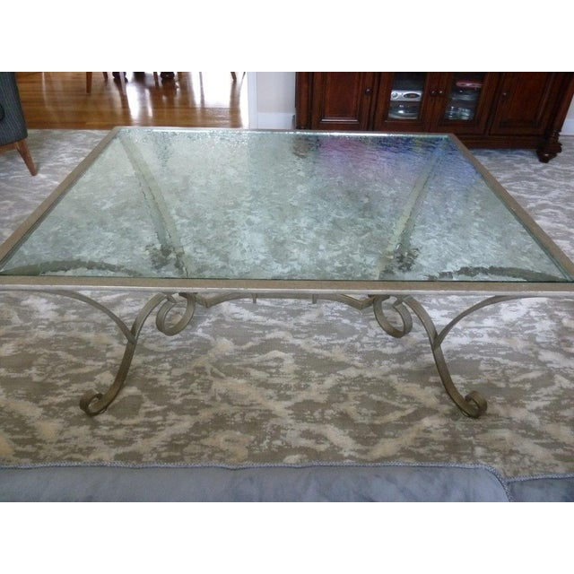 Century Furniture Glass Top Coffee Table - Image 3 of 5