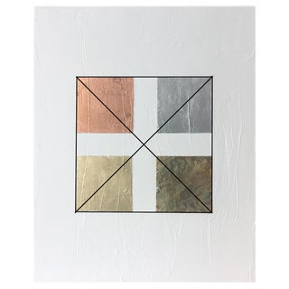 Gilded Squares No. 1 - 36 X 48 For Sale