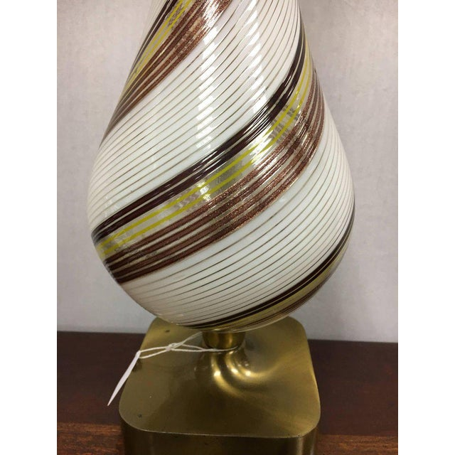 Sophisticated midcentury venetian glass murano table lamp decaso midcentury venetian glass murano table lamp image 4 of 8 aloadofball Choice Image