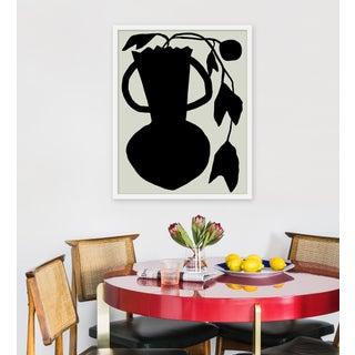 "Medium ""Unusual Vase Four Tan"" Print by Kate Roebuck, 24"" X 30"" Preview"