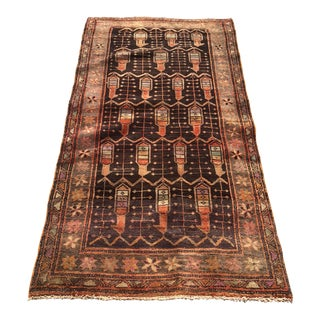 1930s Antique Persian Lilihan Mallayer Sarouk Rug - 3′4″ × 6′2″