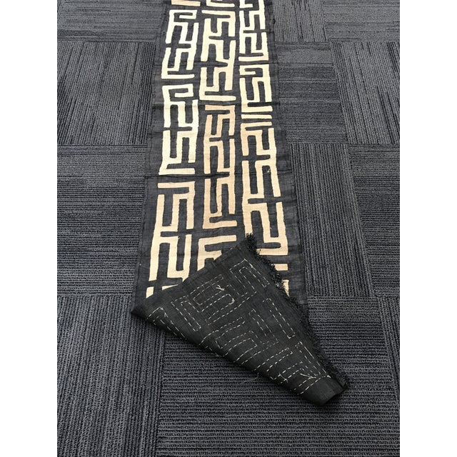 African Art Tribal Art Handwoven Kuba Cloth - Image 9 of 9