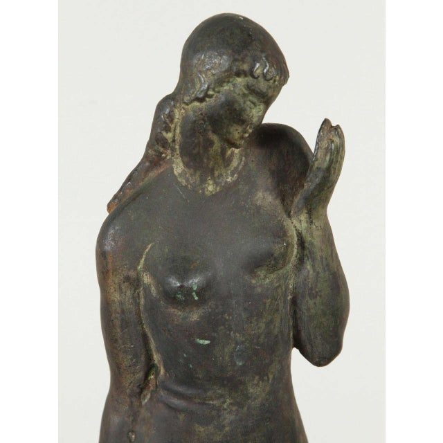 Gladys Lewis Bush Bronze Sculpture For Sale In Los Angeles - Image 6 of 8