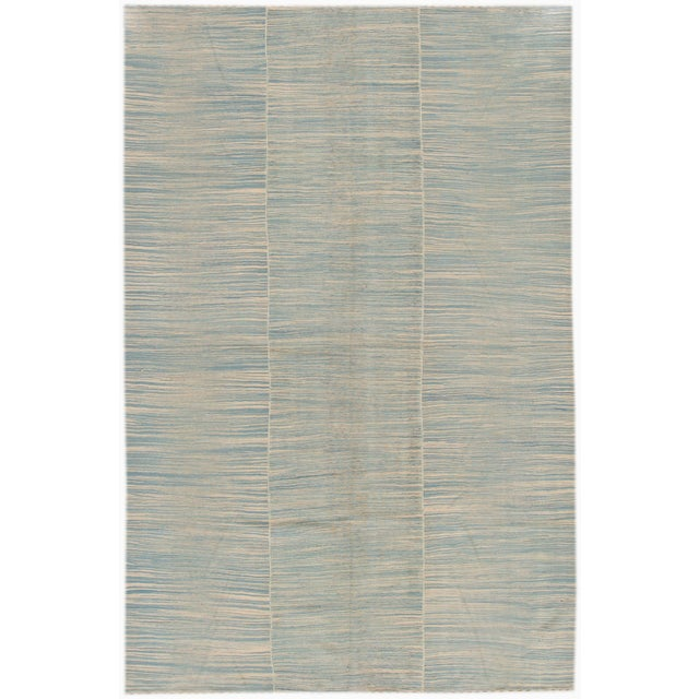 21st Century Contemporary Kilim Rug For Sale In New York - Image 6 of 6