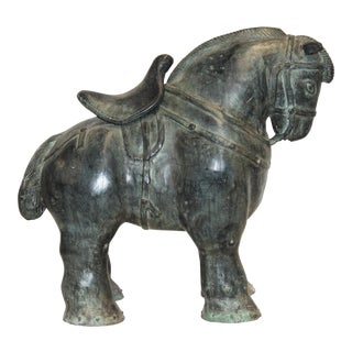 Reproduction Bronze Chinese Tang Dynasty Horse For Sale