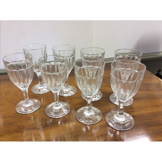 Antique French Wine Glasses - Set of 8 - Image 2 of 4
