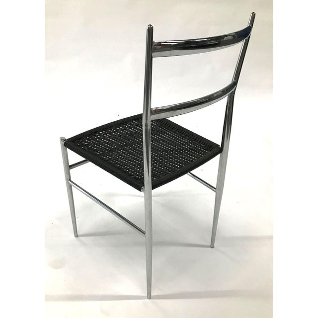 """1960s """"Leggera"""" Chrome Chair by Gio Ponti, 1960s For Sale - Image 5 of 11"""