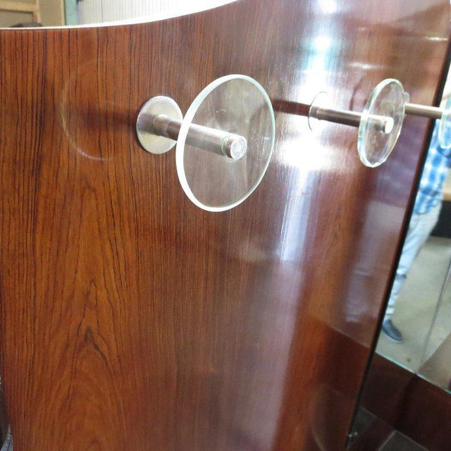 Art Deco Entry Hall Tree With Mirrors and Umbrella Stand For Sale - Image 4 of 8
