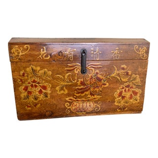 Antique Chinese Tea Chest For Sale