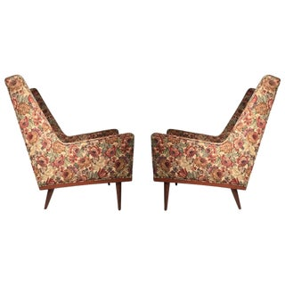 Pair of Early Milo Baughman Lounges for James Company For Sale