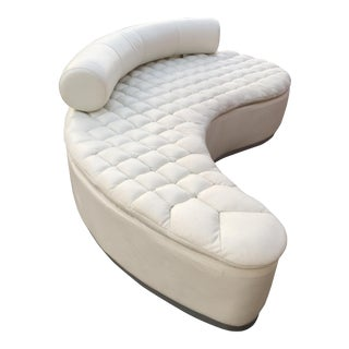 Vladimir Kagan Style Boomerang Sofa