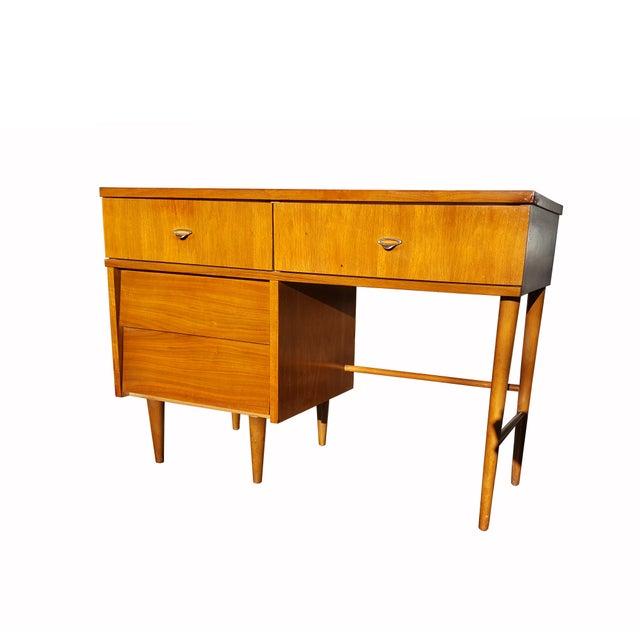 Paul McCobb Style Mid-Century Modern Desk - Image 2 of 4