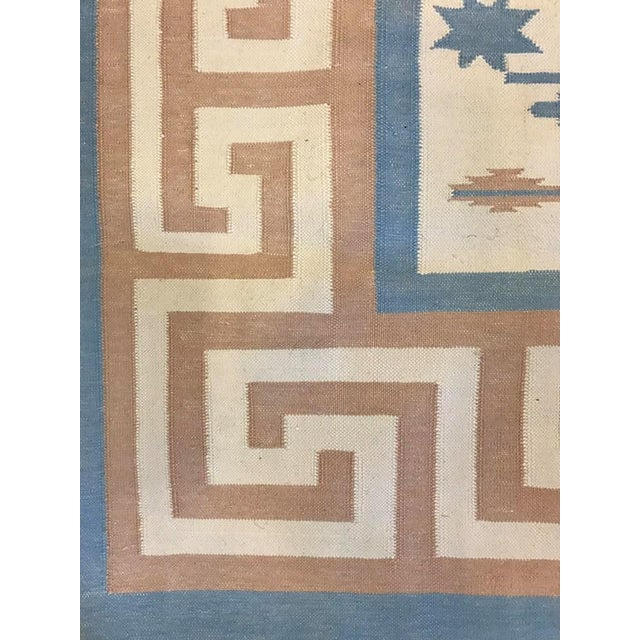 Handmade Flat Woven Kilim Rug - 6' X 9' - Image 3 of 5