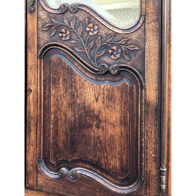 Mid 19th Century 19th Century French Armoire / Display Cabinet For Sale - Image 5 of 12