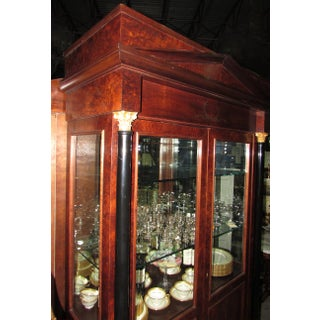 Italian Neoclassical Style Mahogany Lighted China Cabinet Preview