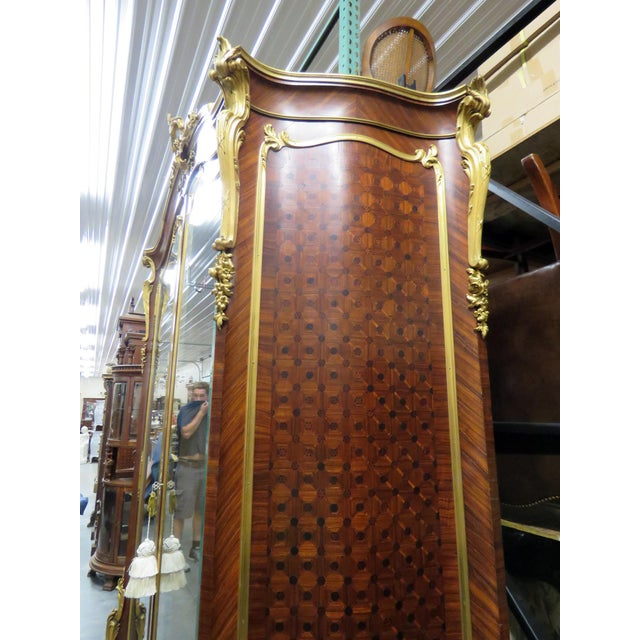 Gold Signed Francois Linke Louis XV Cabinet For Sale - Image 8 of 12